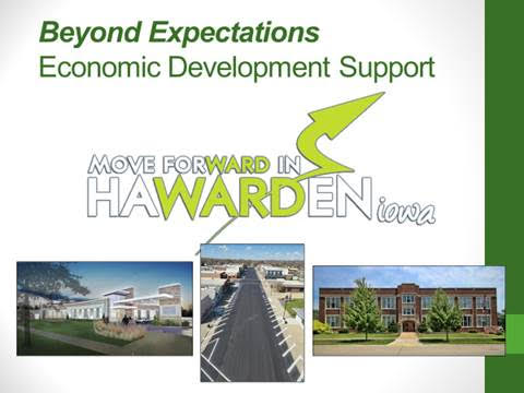 City of Hawarden Beyond Expectations Economic Development Award